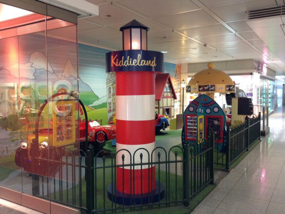 Kącik zabaw na lotnisku w Monachium