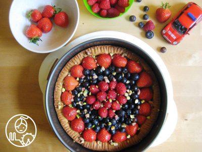 Kruche+ciasto+z+owocami