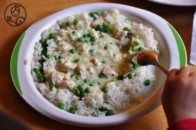Ryz-z-groszkiem+i+kurczakiem