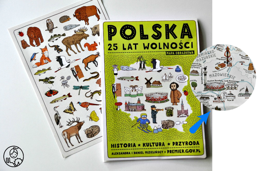 Mapa-obrazkowa-Polska-25lat-wolnosci