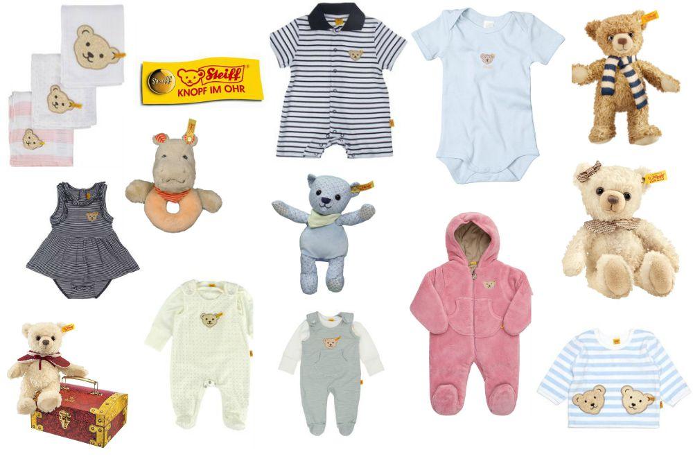 Steiff-Produkte-Babys