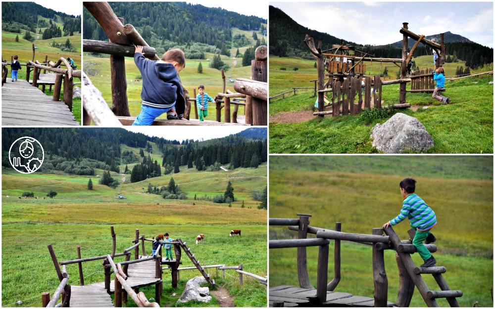 Plac-zabaw schronisko DAV Albert-Link Hütte