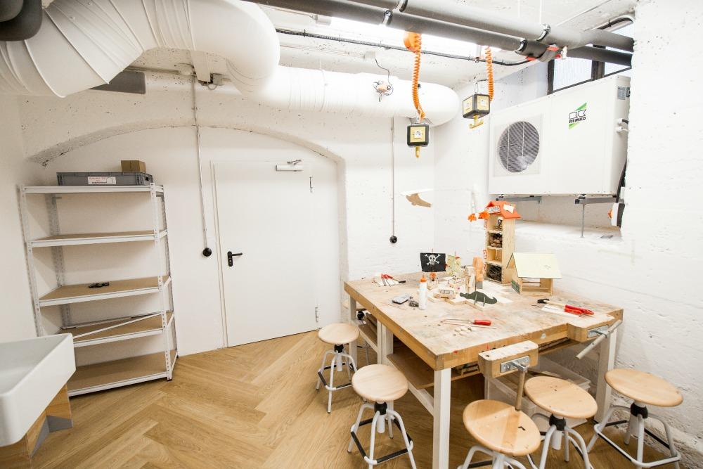 Kinderkunsthaus Monachium nowa lokalizacja