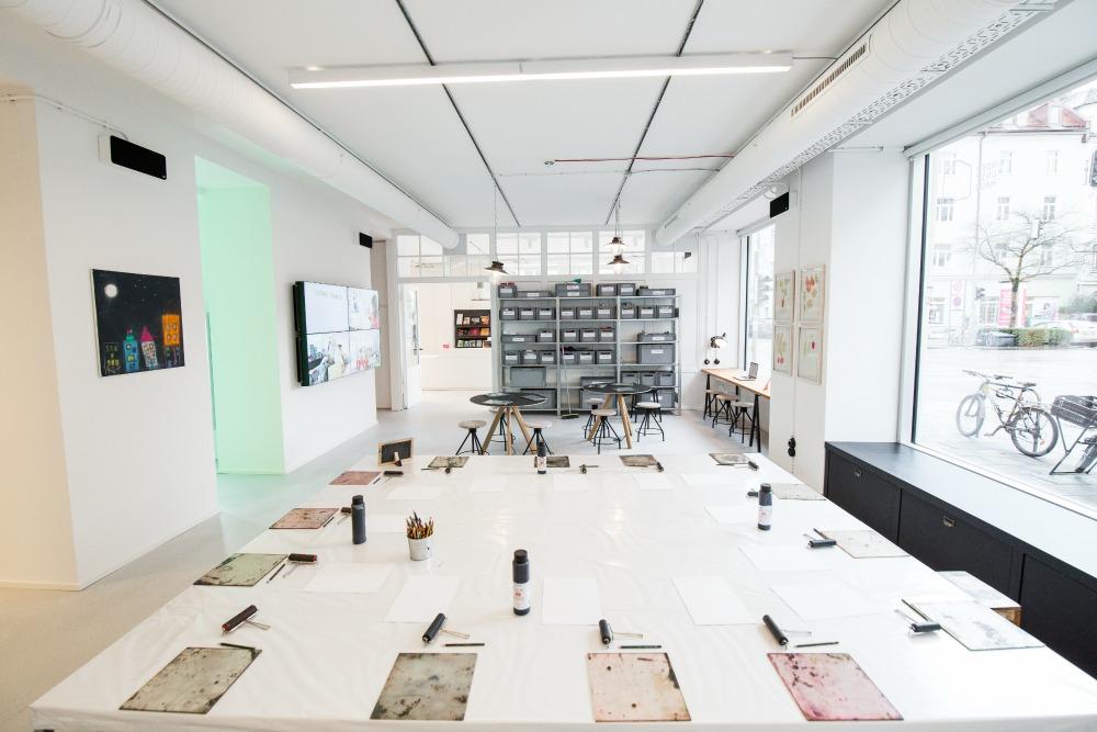 Kinderkunsthaus nowa lokalizacja Monachium Schwabing