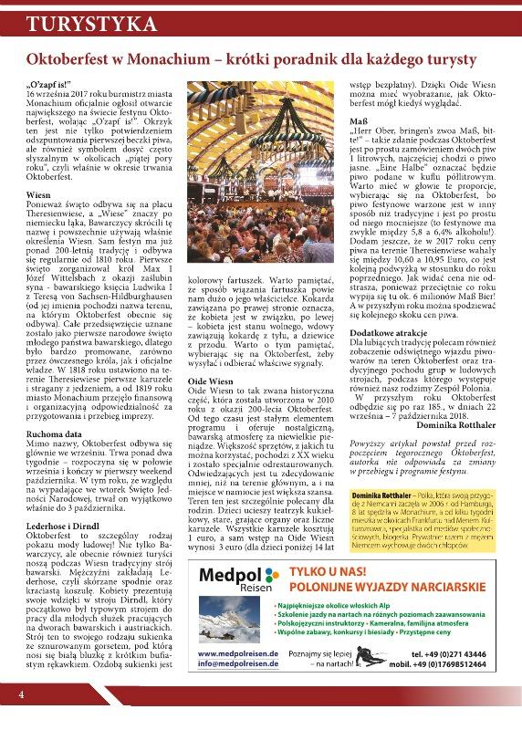 Twoje Miasto - gazeta polonijna_Oktoberfest